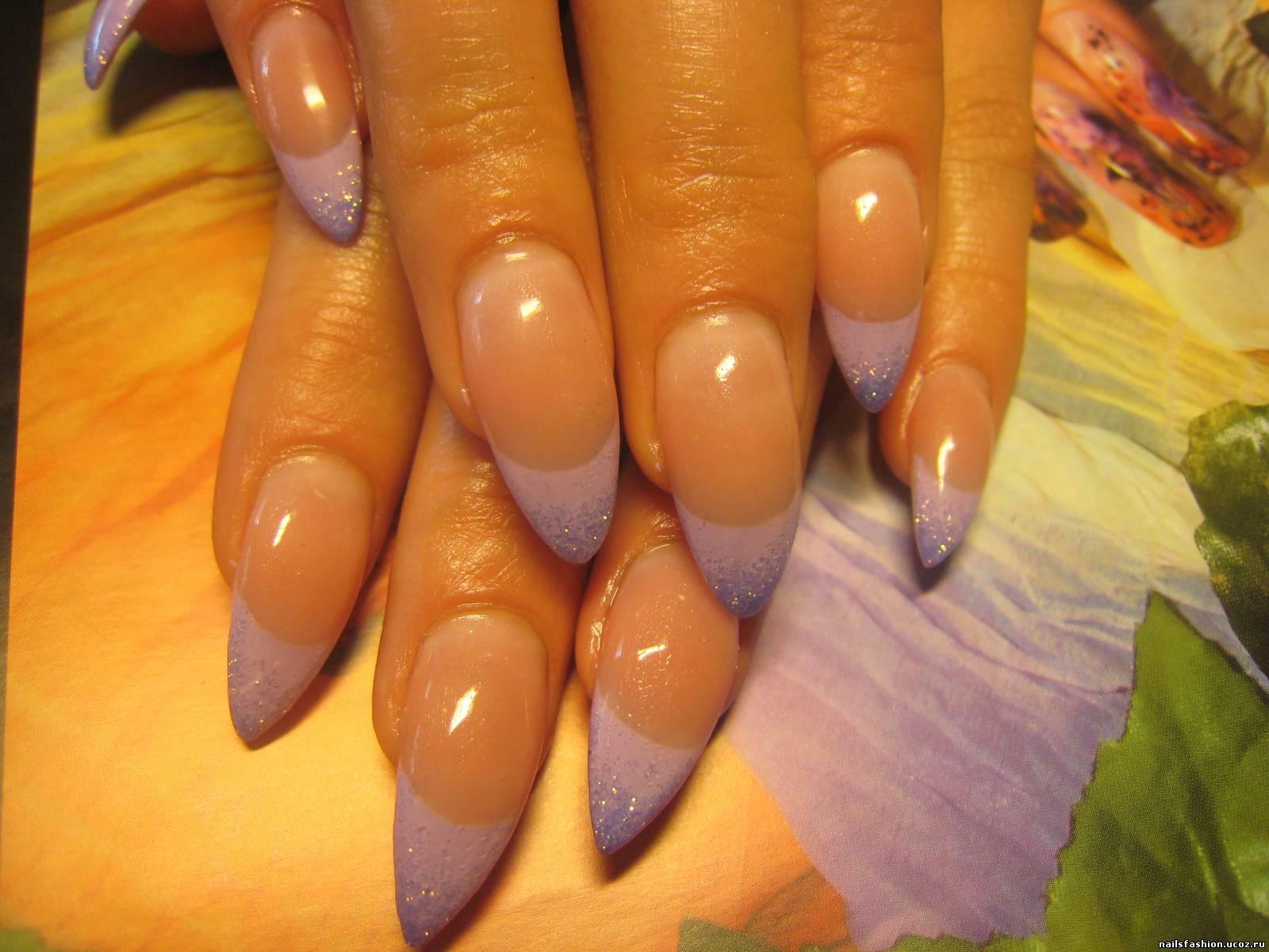 Рисунки на ногтях фото форма миндаль