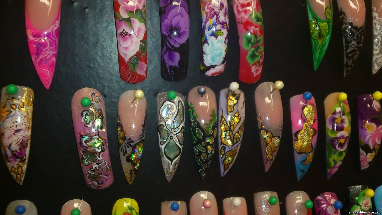Ногти на типсах дизайн