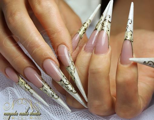 Свадебный маникюр - Наращивание ногтей для Вас